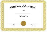 Small Certificate Template 9