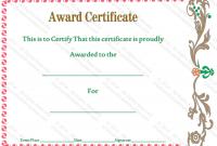 Walking Certificate Templates 2