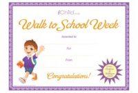 Walking Certificate Templates 3