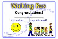 Walking Certificate Templates 4