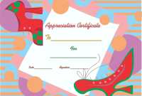 Walking Certificate Templates 5