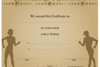 Walking Certificate Templates 8