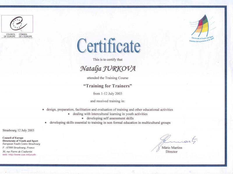 Attendance Certificate Template Word Unique Natalja Gudakovska Jurkova Certificate Of attendance and