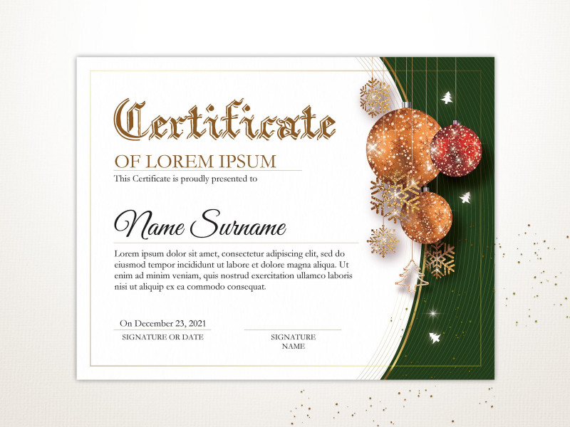 Certificates Of Appreciation Template New Editable Holiday Certificate Template Printable Christmas