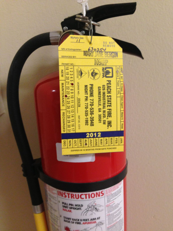 Fire Extinguisher Certificate Template New Out Of Date Fire Extinguishers Expired Uganews