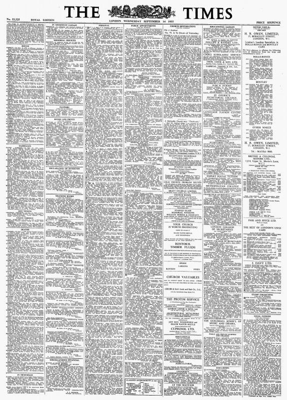 Free Certificate Of Destruction Template New Archive Page Viewer September 14 1955 the Times