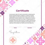 Free Printable Blank Award Certificate Templates Unique Makeup Certification Template Saubhaya Makeup