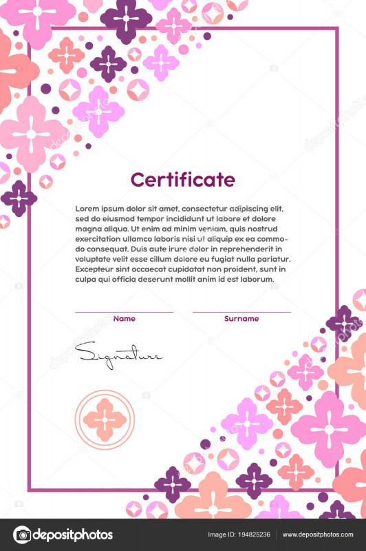 Free School Certificate Templates Awesome Makeup Certification Template Saubhaya Makeup