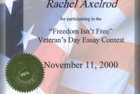 Gratitude Certificate Template Awesome Certificate Of Appreciation Template Free Veterans Day