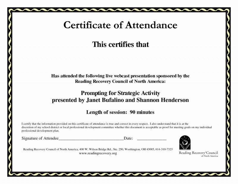 Hayes Certificate Templates New Certificate Of attendance Templates Calep Midnightpig Co