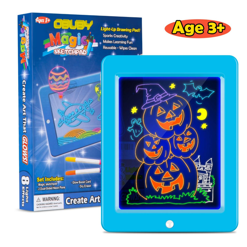 Kids Gift Certificate Template Awesome Buy Obuby Kids Magic Pad Light Up Glow Drawing Board Led