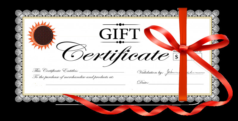 Massage Gift Certificate Template Free Download New Free Clipart Gift Cards