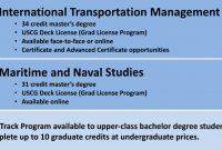 Masters Degree Certificate Template Unique Graduate Programs Suny Maritime College