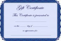 Microsoft Gift Certificate Template Free Word New Gift Voucher Clipart