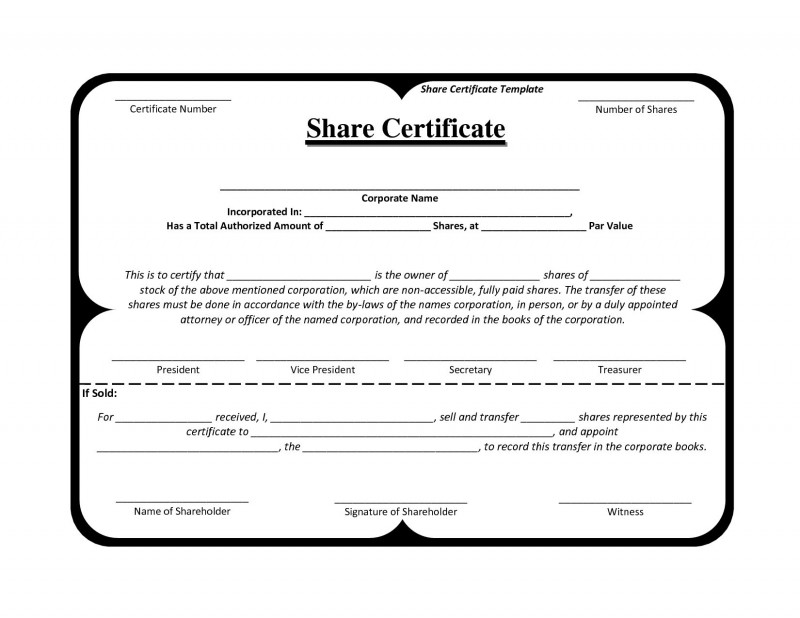 Share Certificate Template Pdf New 7242 Best Amazing Templates Images In 2020 Templates