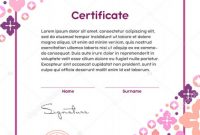 Spa Day Gift Certificate Template Awesome Makeup Certificate Template Saubhaya Makeup