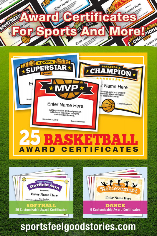Swimming Award Certificate Template Awesome Sports Award Certificates Dalep Midnightpig Co