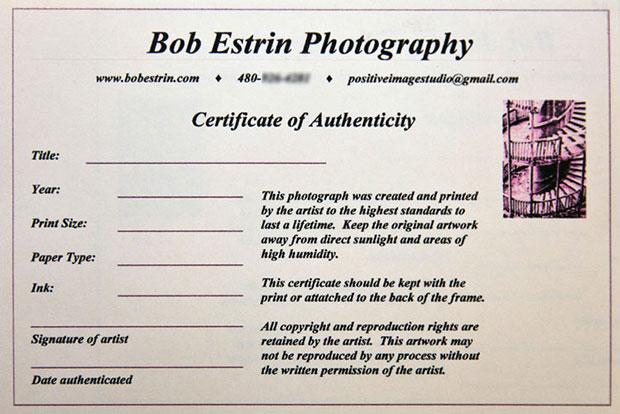 Third Certificate Photoauthen
