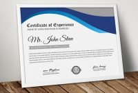 Word Template Certificate Of Achievement Awesome Ms Word Certificate Template