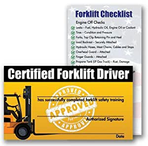 Forklift Certification Template 7