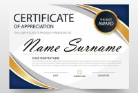 Free Certificate Of Appreciation Template Downloads 1