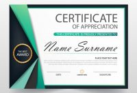Free Certificate Of Appreciation Template Downloads 3