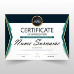 Free Certificate Of Appreciation Template Downloads