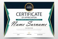 Free Certificate Of Appreciation Template Downloads 4