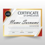 Free Certificate Of Appreciation Template Downloads