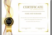 Free Certificate Of Appreciation Template Downloads 9