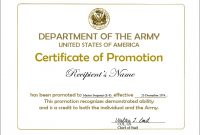 Promotion Certificate Template 11
