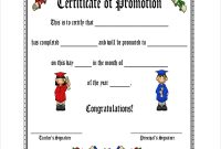 Promotion Certificate Template 7