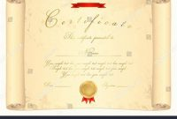 Scroll Certificate Templates 2