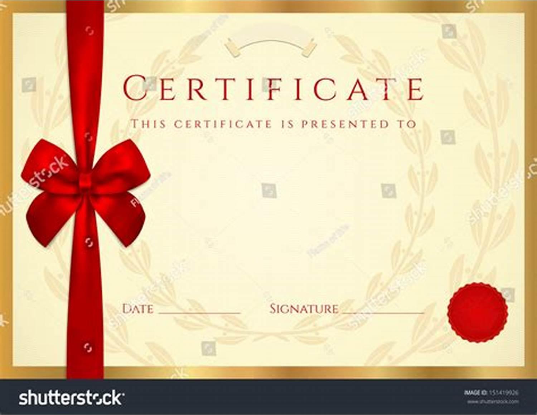 Scroll Certificate Templates 7