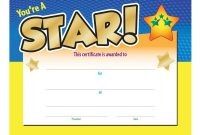 Star Award Certificate Template 0