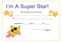 Star Award Certificate Template 9