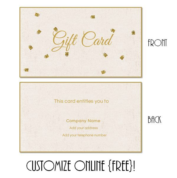 Yoga Gift Certificate Template Free 4