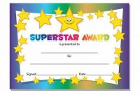Star Award Certificate Template