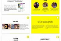 2 X 4 Label Template 10 Per Sheet New Snapchat Pitch Deck Template with Images Presentation