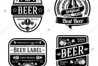 3 Labels Per Sheet Template New 100 Free Beer Label Templates Free Vector Vintage