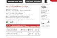 Adc Video Patch Panel Label Template Unique 1000491716 Catalog