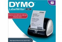 Address Label Template for Mac New Dymo 1755120 Labelwriter 4xl thermal Label Printer