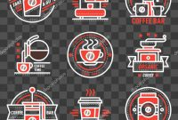 Adobe Illustrator Label Template Awesome Coffee Shop Sticker Design Coffee Badge Logo Food Design