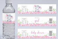 Baby Shower Water Bottle Labels Template Awesome 16 Best Chip Bags Images Chip Bags Templates Printable