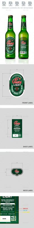 Beer Label Template Psd Awesome 45 Best Beer Bottlecan Mockups 2020 Psd Vector Free