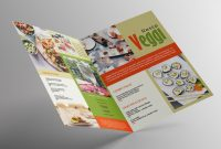 Beer Label Template Psd Awesome Vegan Menu Bifold Brochure A3 Aipsd Templates