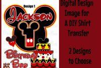 Birthday Labels Template Free New Diy Mickey Mouse 1st Birthday Shirt Rldm