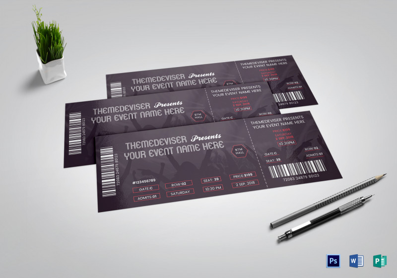 Blank Admission Ticket Template New Ticket Sample United Airlines and Travelling