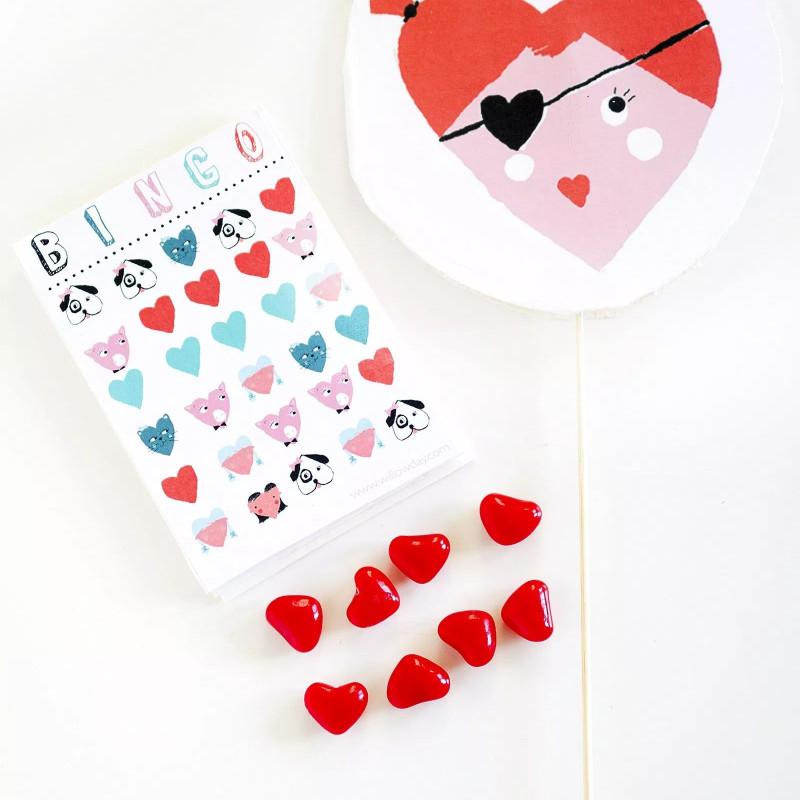 Blank Bingo Template Pdf New 12 Sets Of Free Printable Valentine Bingo Cards