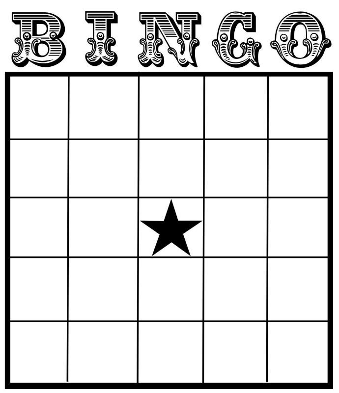 Blank Bingo Template Pdf New Best Photos Of Printable Bingo Cards With Numbers Free